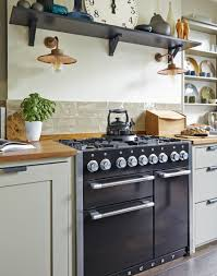 laura ashley tiles kitchen descargas mundiales com modern country kitchen with black range cooker and open shelf cut a dash in your