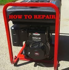 how to troubleshoot a generator that won u0027t start or run briggs