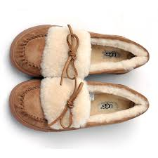 ugg moccasin slippers sale ugg boots with fur trim ugg australia flat shoes 1872