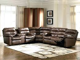 Leather Sofa With Recliner Modern Sectional Recliner Leather Sofa Reclining Sofas With Chaise