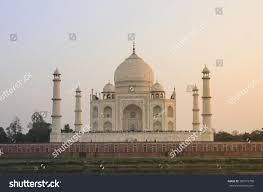 Taj Mahal Floor Plan by Taj Mahal View Across Yamuna River Stock Photo 180772790