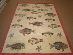 Fish Area Rug House Rugs Something Fishy Is Going On Colony Rug