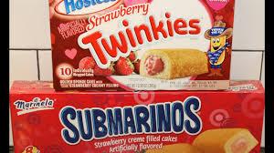 Best Hostess Hostess Twinkies Strawberry Vs Marinela Submarinos Strawberry