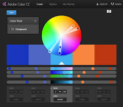 Color Combination Generator How To Choose Colors For An Application Or Website Design For