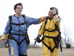 photo gallery owasso woman celebrates 80 years with skydiving