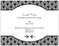 art deco wedding invitations vistaprint