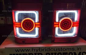 modified bolero www hybridcustoms in mahindra bolero led tail lamp