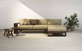 Modern Wooden Sofa Designs Custom L Shaped Wood Sofa Search Room Inspirations