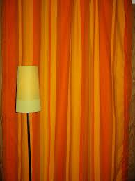 Funky Curtains by Vintage Funky 70 U0027s Orange Striped Curtains Www Etsy Com Vi U2026 Flickr