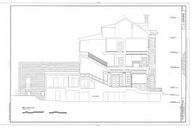 house of bryan floor plan file section a a bryan lathrop house 120 east bellevue place