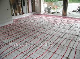 pex radiant slab on grade pex underfloor heating system install