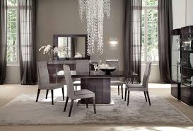 modern grey dining table simple luxury modern contemporary grey color tall ceiling dining
