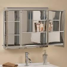 Two Door Medicine Cabinet Cosmopolitan Stainless Steel Door Medicine Cabinet Bathroom