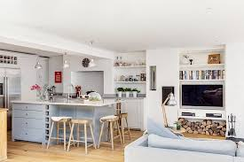 open plan kitchen family room ideas a functional and stylish kitchen in an open floor plan kitchen