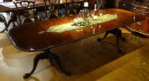 mahogany and more dining tables classic mahogany chippendale