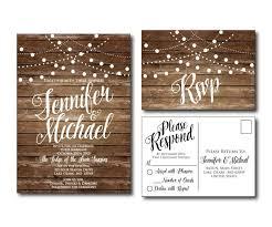 Country Chic Wedding Invitations The 25 Best Postcard Wedding Invitation Ideas On Pinterest