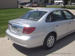 2004 used saturn l series l300 2 4dr sedan at signature autos inc