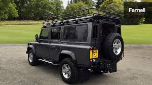 land rover defender 110 convertible used land rover defender 110 lwb diesel landmark station wagon