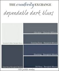 Most Popular Colors Best 25 Dark Blue Paints Ideas On Pinterest Dark Blue Colour