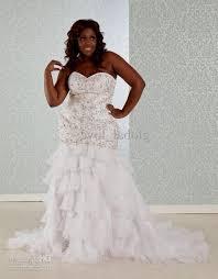 plus size mermaid wedding dress 2016 2017 b2b fashion