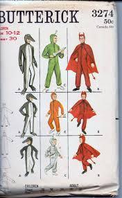 sewing pattern ninja costume costume apron vintage sewing patterns vintagestitching vintage