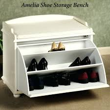 white hall bench shoe storage entryway bench with shoe storage