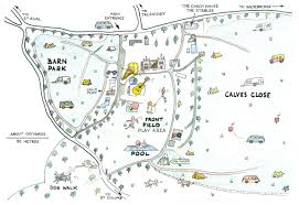 Site Map Trewan Hall Site Map Camping And Caravanning At Trewan Hall Near