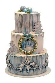 17 of the most festive winter wedding cakes ever winter solstice