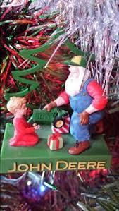 deere flower pot and deere tree ornament
