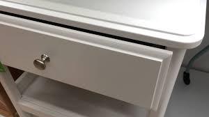 Ikea White Bedroom Side Tables