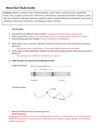 wave quiz answer key
