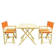 Bamboo Patio Set by Christopher Knight Home Cinnabar 3 Piece Pine Table And Bench Set