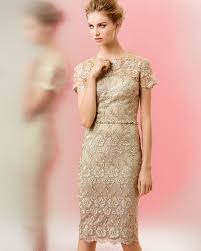 david meister short sleeve lace beaded cocktail dress
