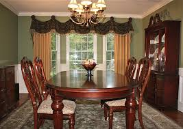dining room curtains ideas bay window curtain ideas dining room traditional with bay window