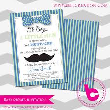 mustache invitations mustache baby shower invitation template