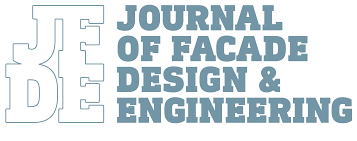 journal of facade design and engineering page header