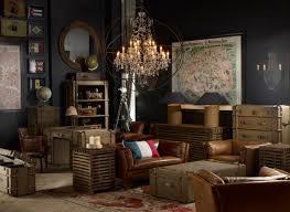 Interior Design Vintage Room Design With Voyage Theme Suitcase