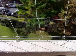 balcony bird netting kits