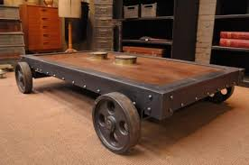 c table with wheels european antiques large industrial pallet coffee table with wheels