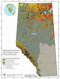North America Biome Map by Maps The Last Great Intact Forest Landscapes Of Canada Atlas Of