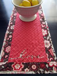 valentines day table runner craftytammie s day reversible table runner tutorial