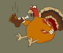 thanksgiving the turkey eats you