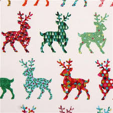 white reindeer fabric andover usa kawaii fabric shop