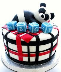 panda baby shower cake cakes pinterest panda baby showers