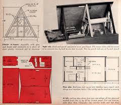 Floor Plans For A Frame Houses Kevin Kidney A Frame Doll House