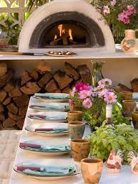 Outdoor Kitchen Pizza Oven Design Outdoor Kitchens Hgtv