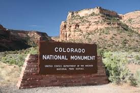 Colorado National Parks Map by Colorado National Monument Wikipedia