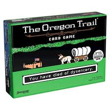 Games To Play At The Dinner Table The Oregon Trail Card Game Target