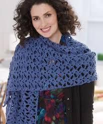 crochet wrap lacy shawl crochet pattern heart