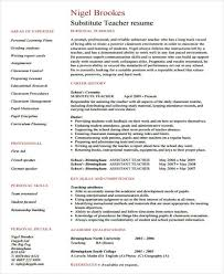 Assistant Teacher Resume Examples by 42 Teacher Resume Formats